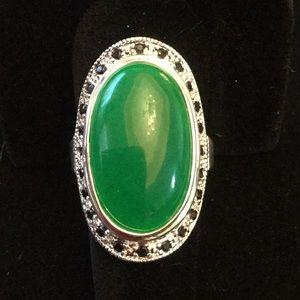 Breathtaking Rare Genuine Jade Ring